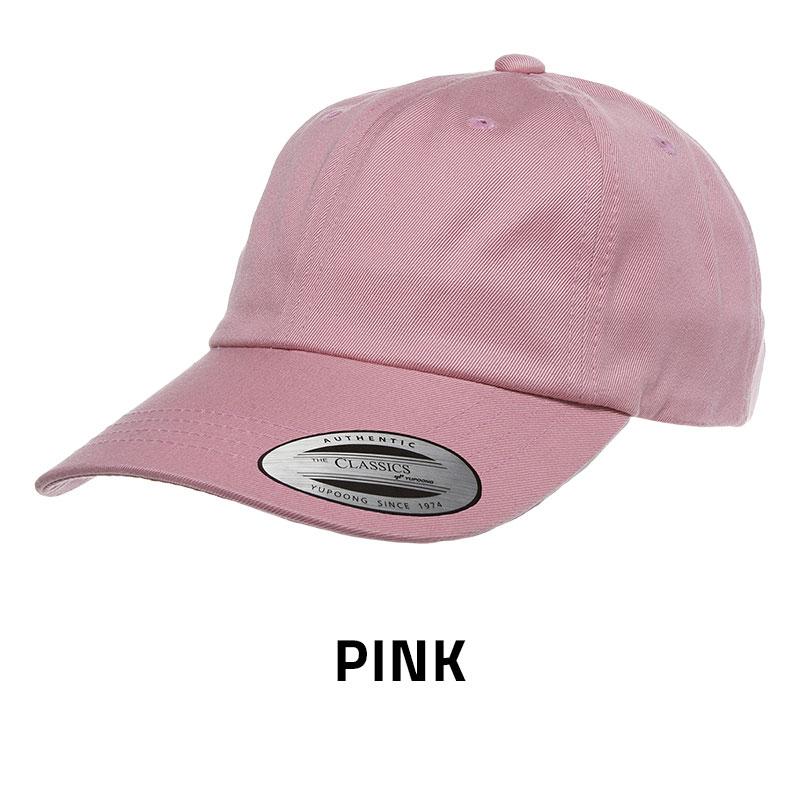 6245CM Low Profile Cotton Twill Dad Hat - LMB Knitwear 4280bf69fce3