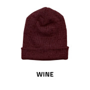 Beanie-Baggy-Wine