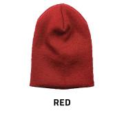Beanie-Skull-Red