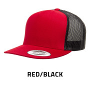 Flexfit-6006T-RedBlack