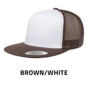 Flexfit-6006W-BrownWhite