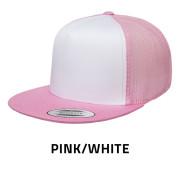Flexfit-6006W-PinkWhite