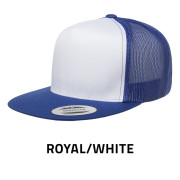 Flexfit-6006W-RoyalWhite