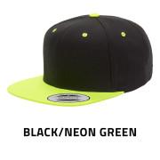 Flexfit-6089MT-BlackNeonGreen