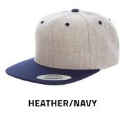 Flexfit-6089MT-HeatherNavy