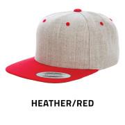 Flexfit-6089MT-HeatherRed