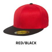 Flexfit-6210T-RedBlack
