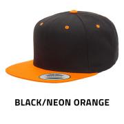 Flexfit-6089MT-BlackNeonOrange