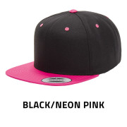 Flexfit-6089MT-BlackNeonPink