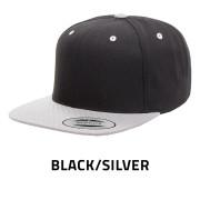 Flexfit-6089MT-BlackSilver
