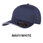 Flexfit-6277V-NavyWhite