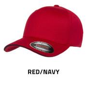 Flexfit-6277V-RedNavy